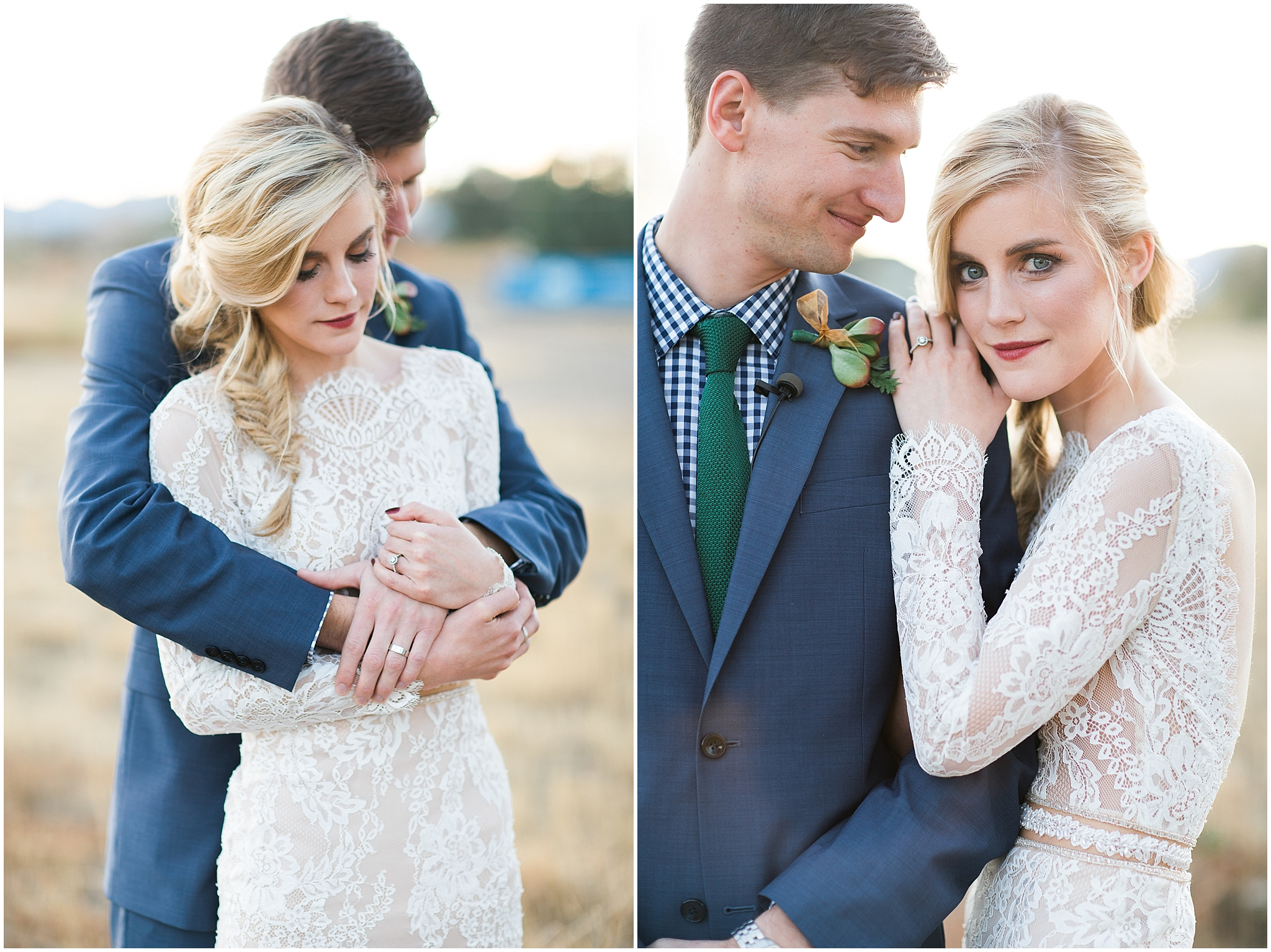 vogue wedding couple