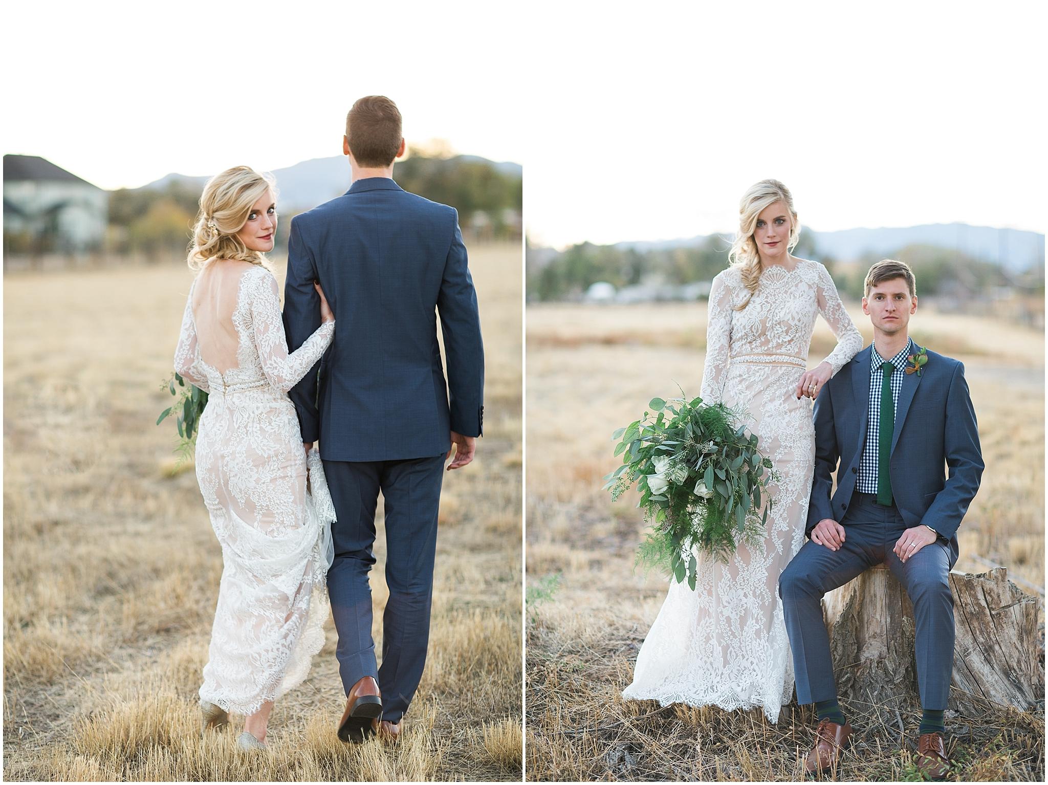 Colorado outdoor adventure wedding