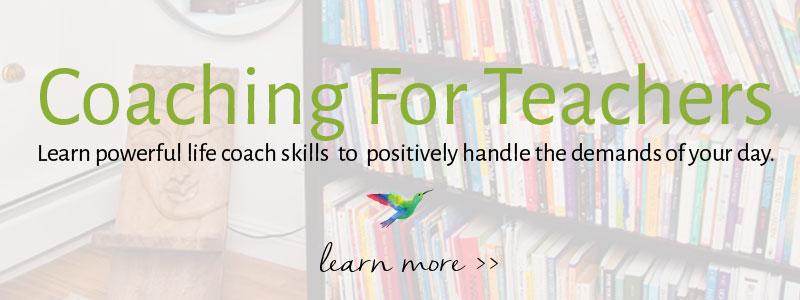 life coaching for teachers