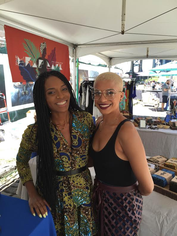 Essence Street Style Block PartyHost and MBM jewel Dana Blair