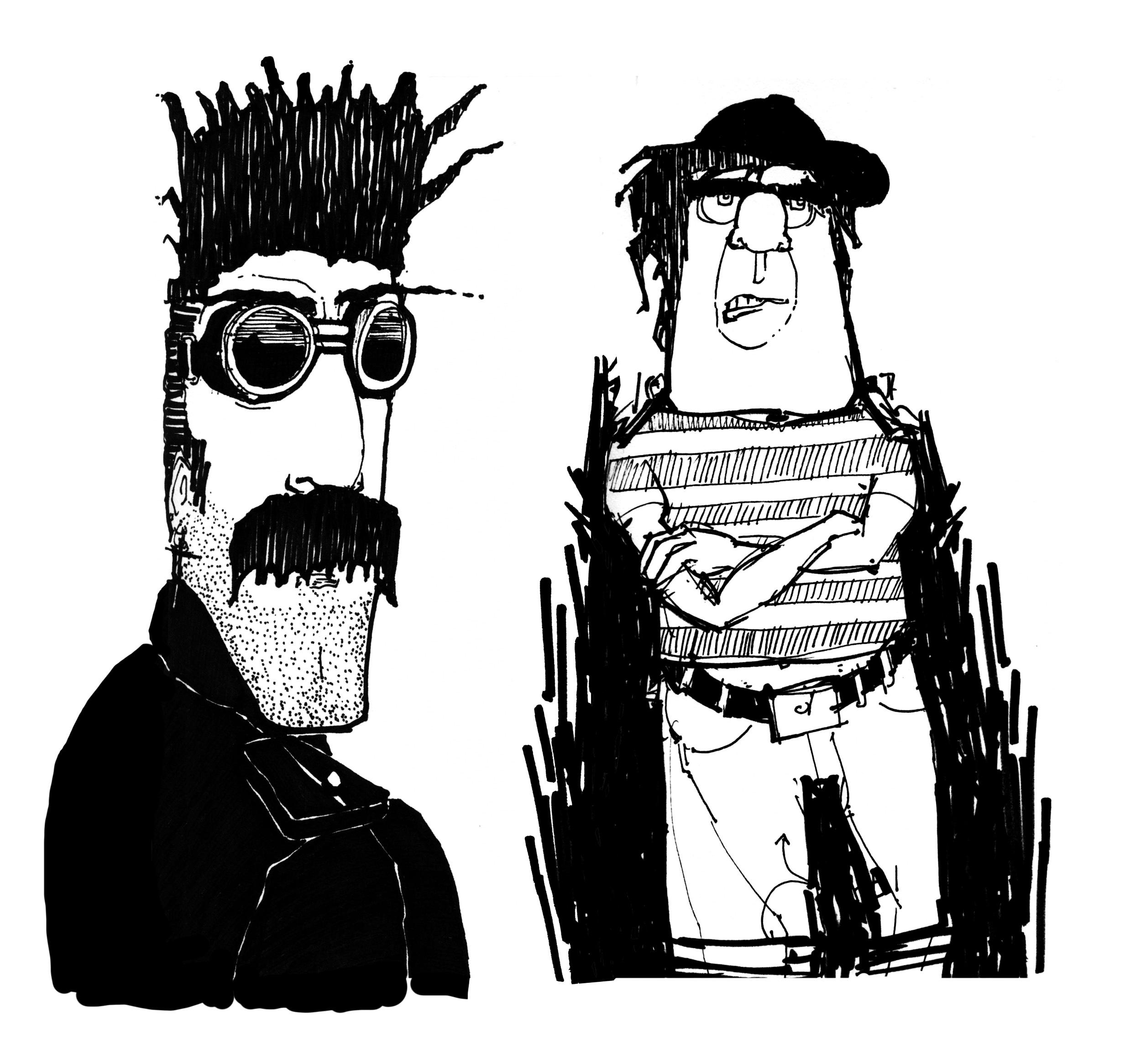 sketch_desert man and Bully.jpg
