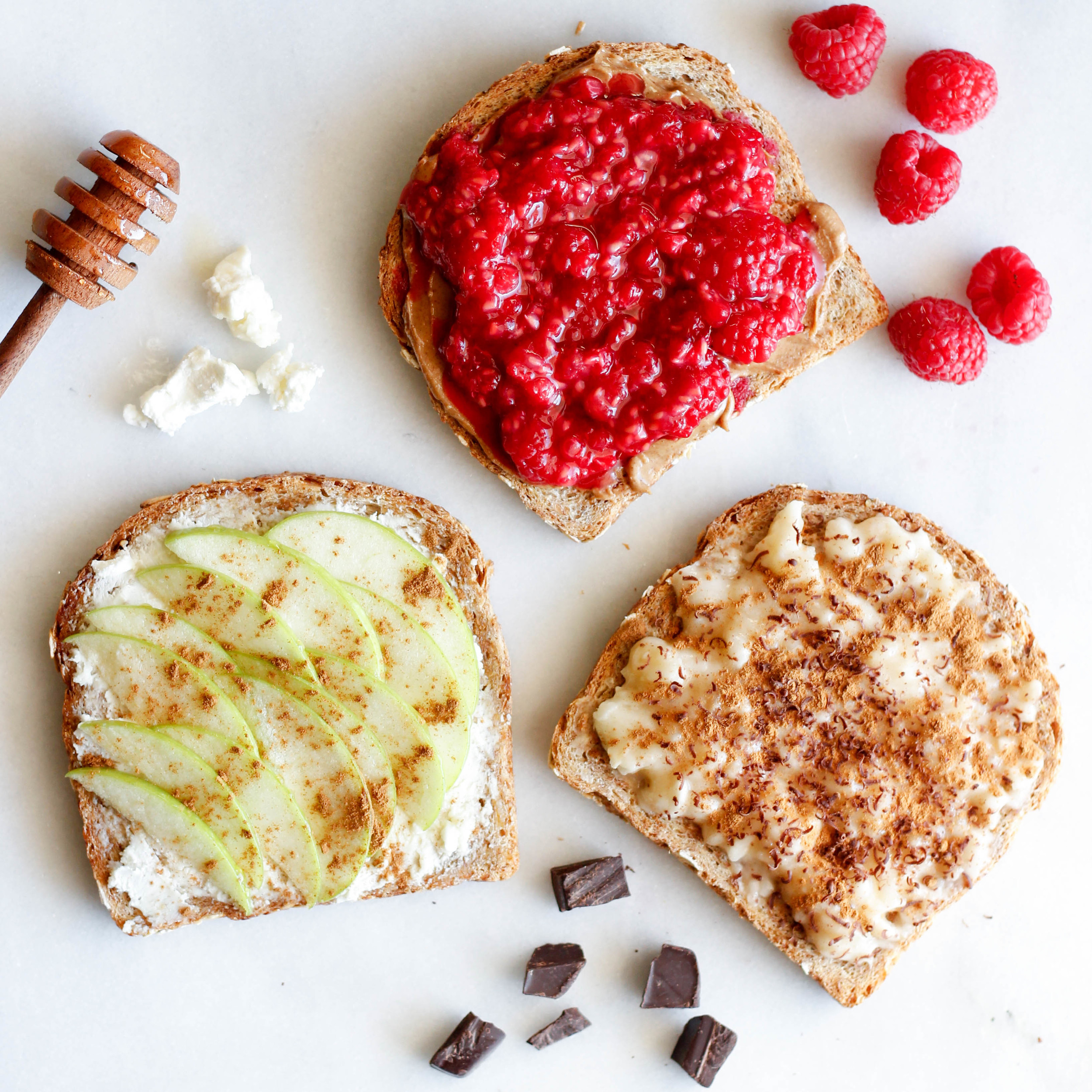 3 Sweet Toast Options | Jennifer Diaz
