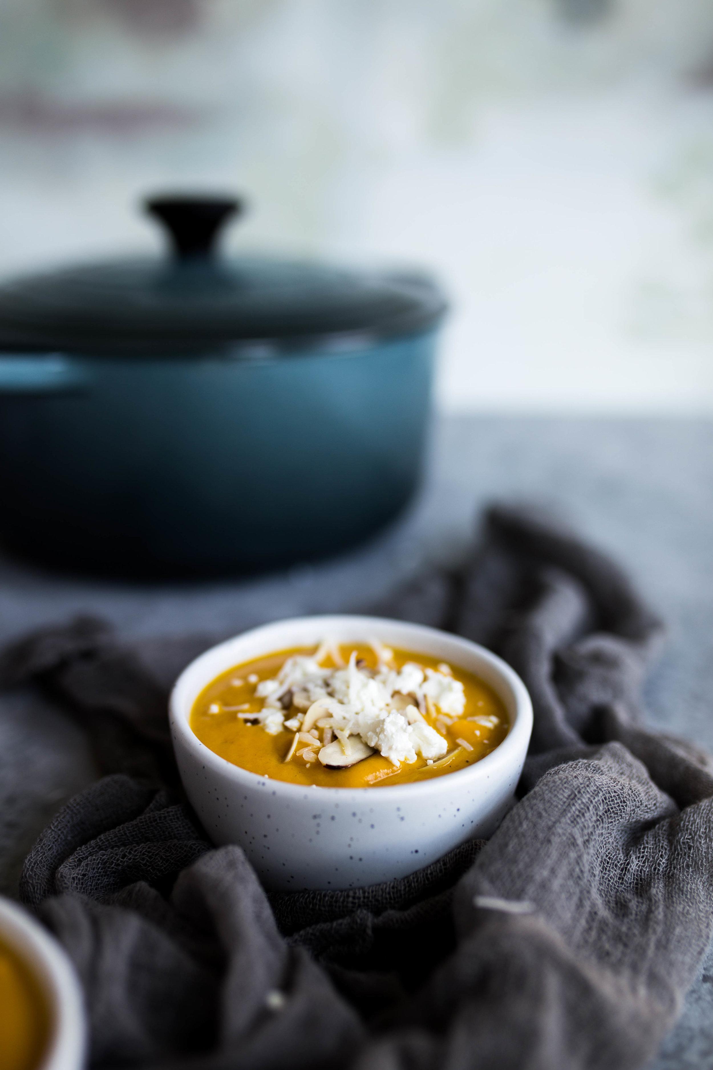 Roasted Pear & Butternut Squash Soup   Jennifer Diaz