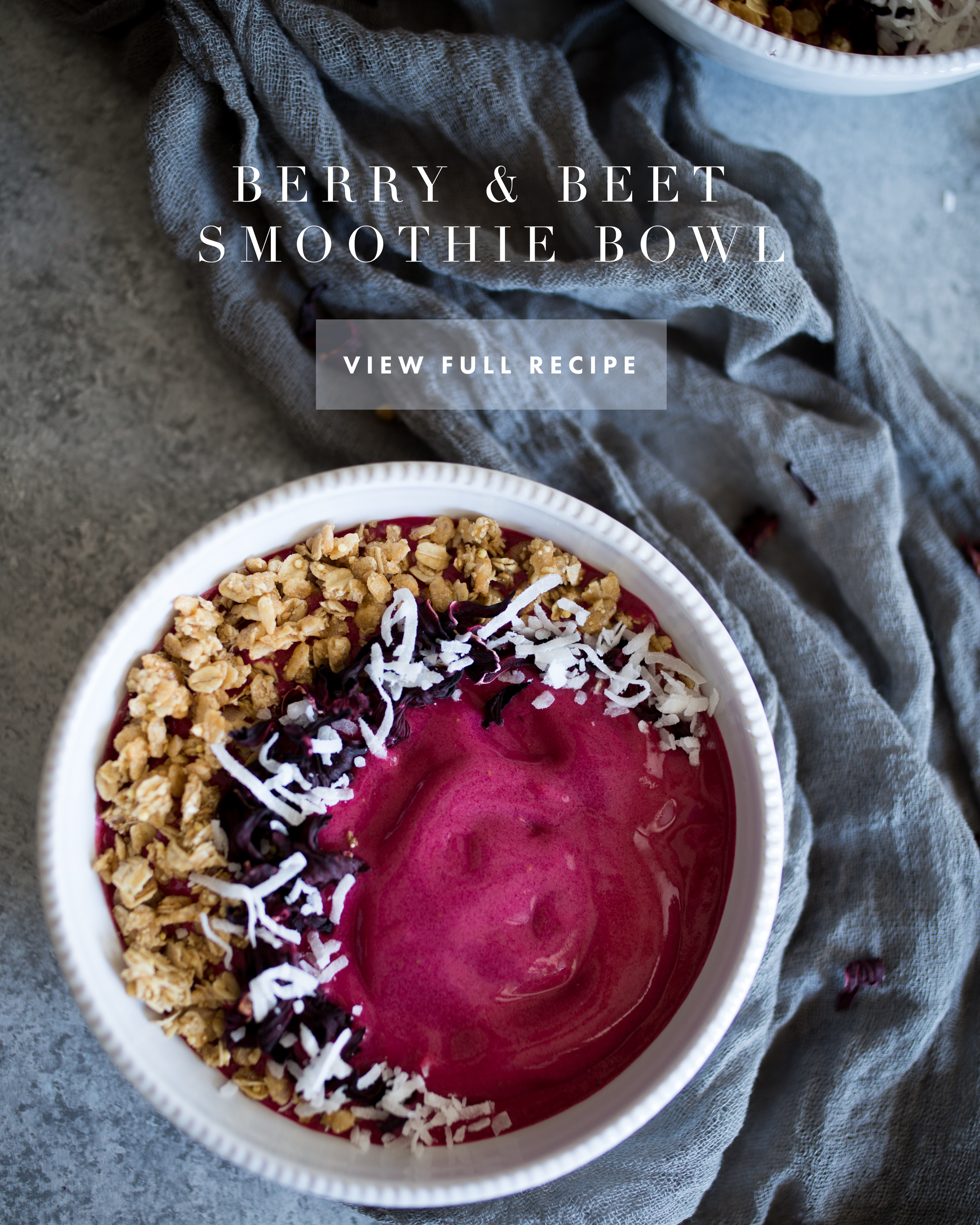 Berry & Beet Smoothie Bowl | Jennifer Diaz | Healthy Breakfast | How to Make a Smoothie Bowl | Pink Smoothie Bowl | High Protein Breakfast | High Fiber Meal