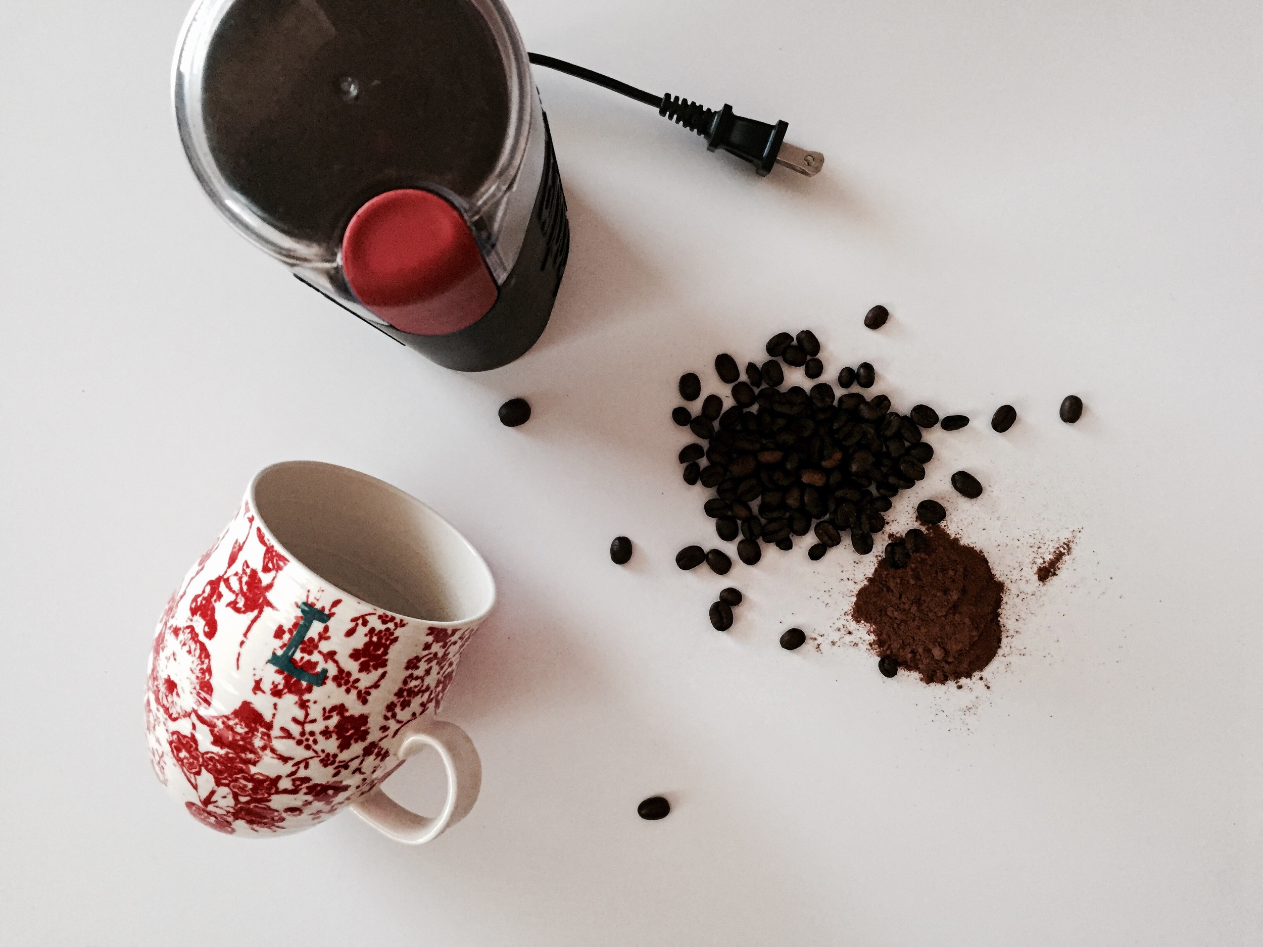 cinnamon coffee | anthropologie mug | Oil & Grain