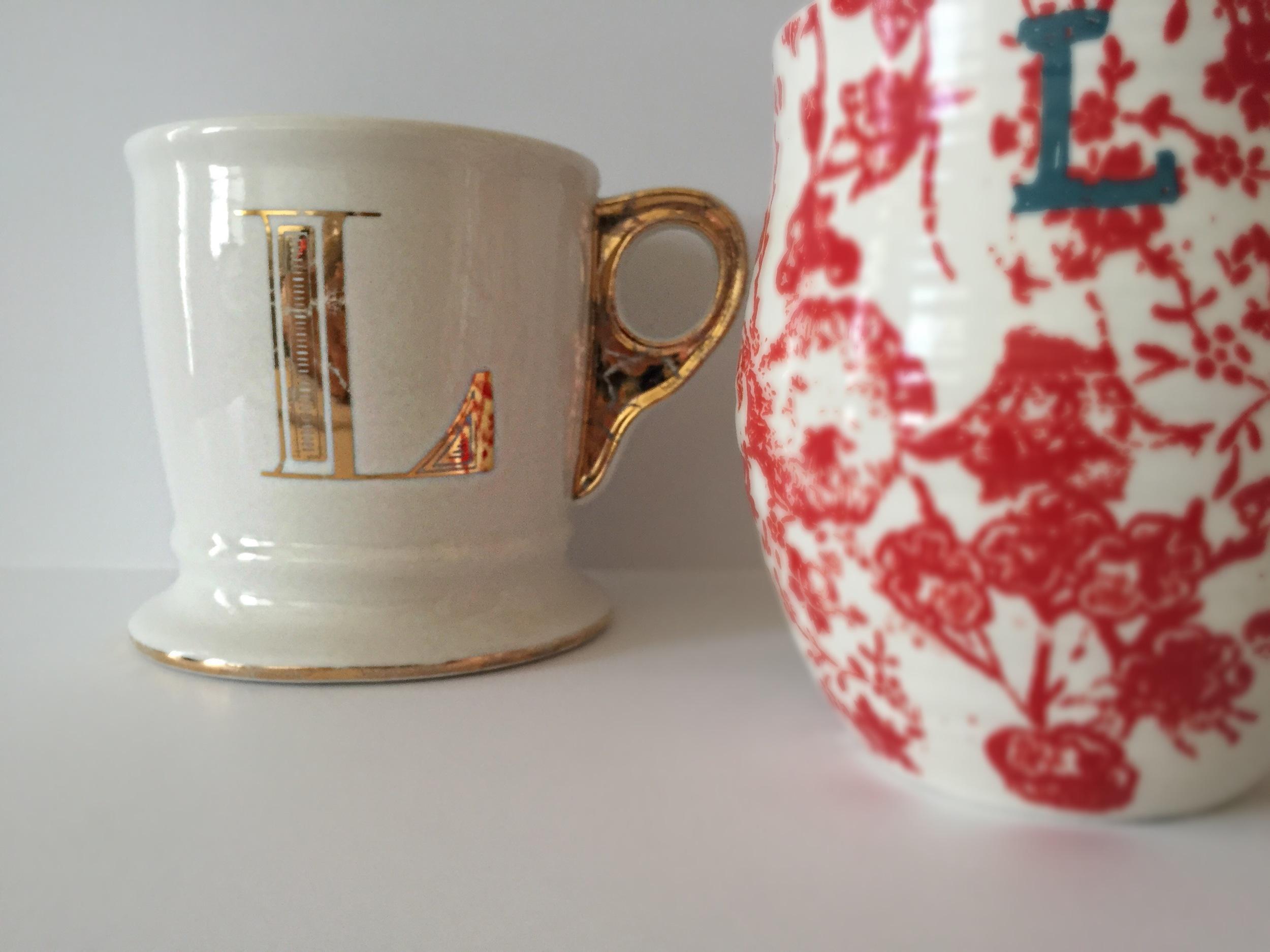 anthro coffee mugs | Oil & Grain