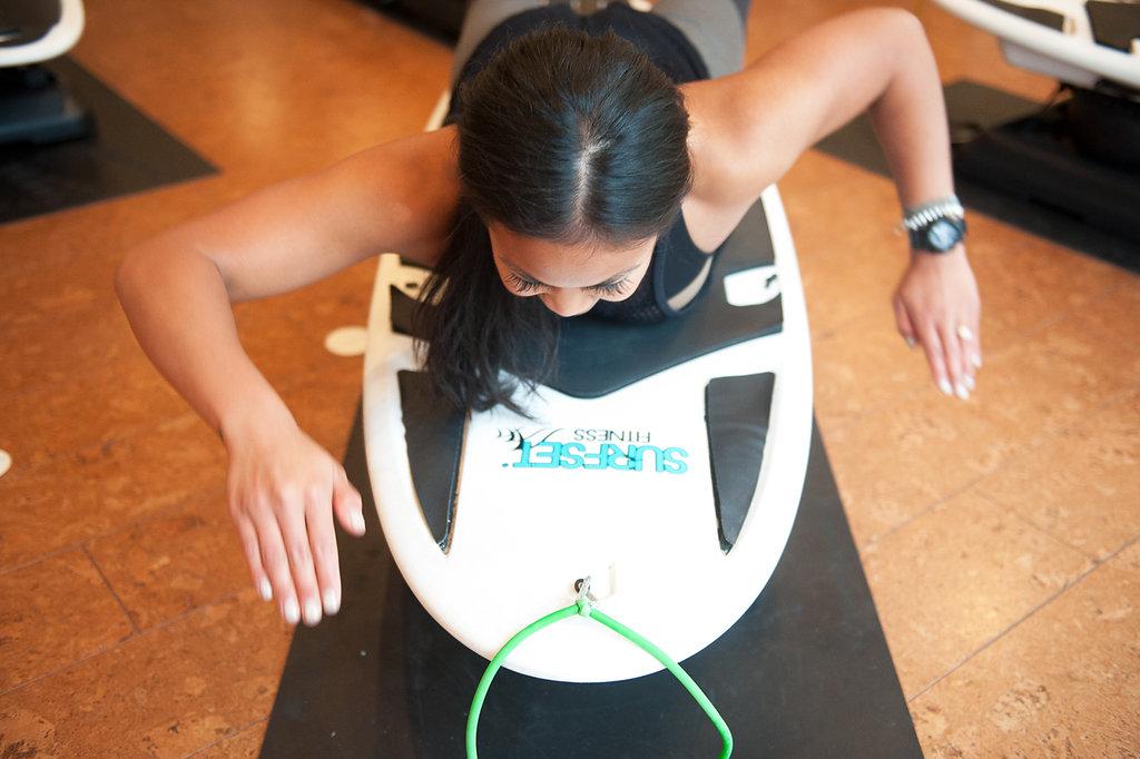 karleen paddling