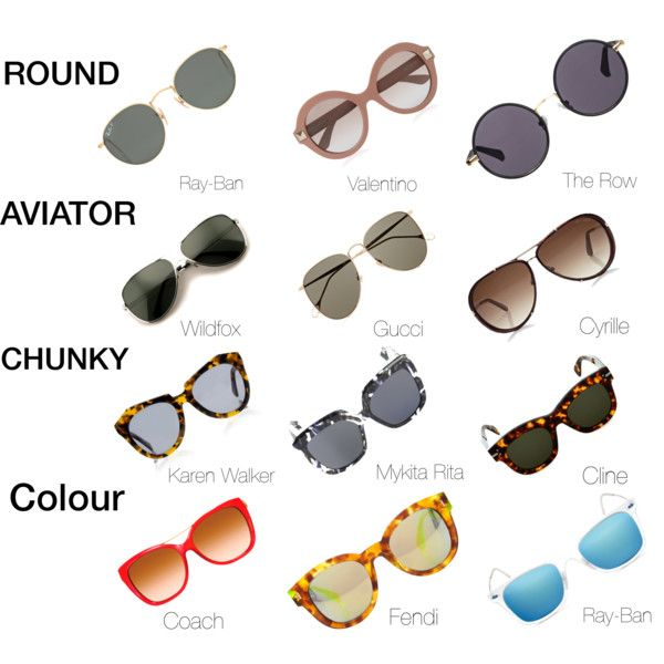 Sunglasses - styles for summer