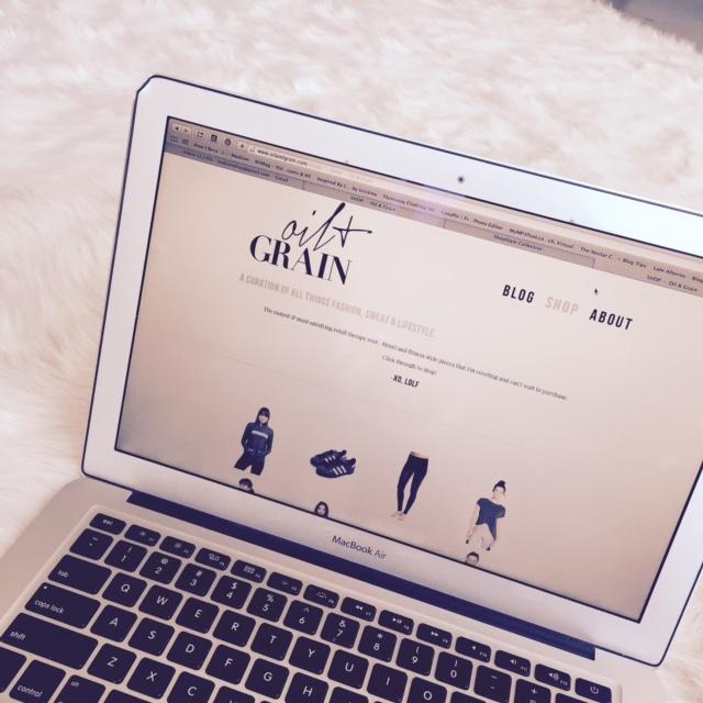 Oil & Grain Fitness Fashion SHOP