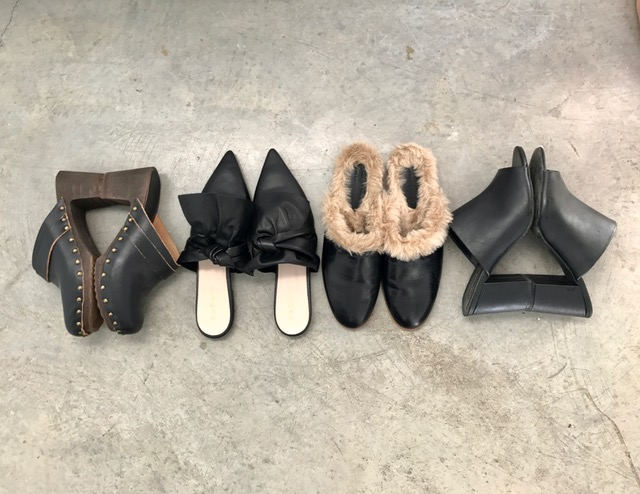 Mules on Oil & Grain // Shop the look