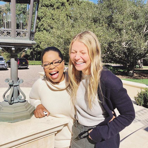 I'll consume anything Oprah - so it's no surprise I listened to Goop's first podcast because the queen was her guest. My favorite part? The bit about intention. Listen to it here.