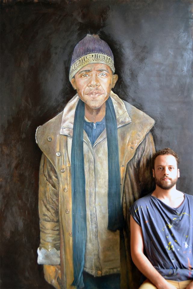 Barack, 200x140cm, 2014