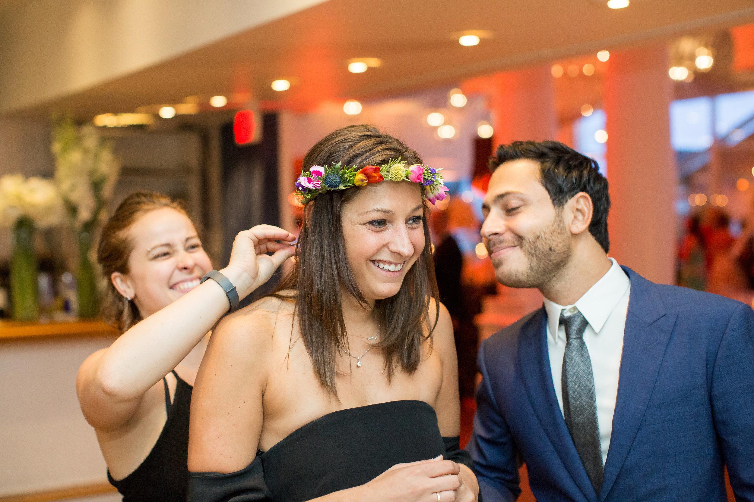 Hamptons Flower Crown Wedding