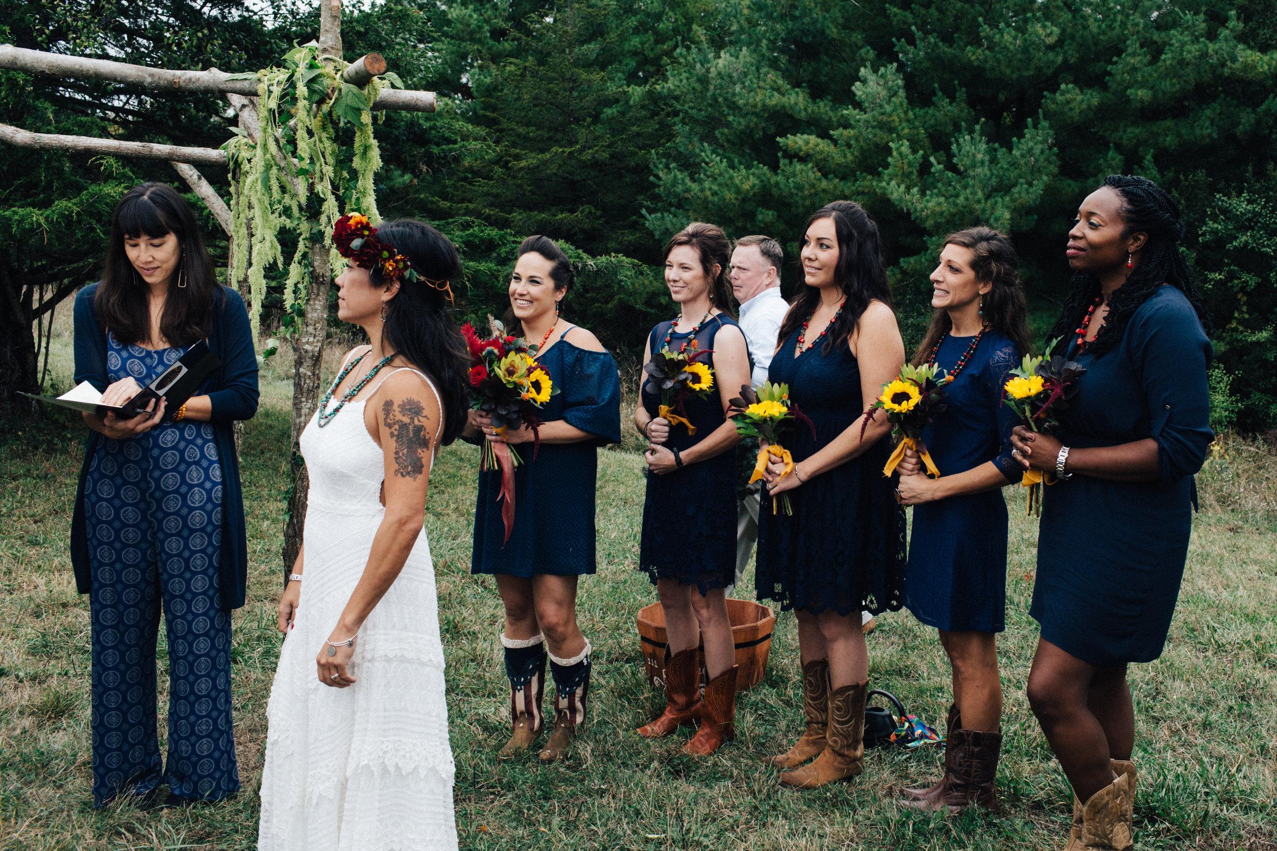 Upstate New York Farm Wedding