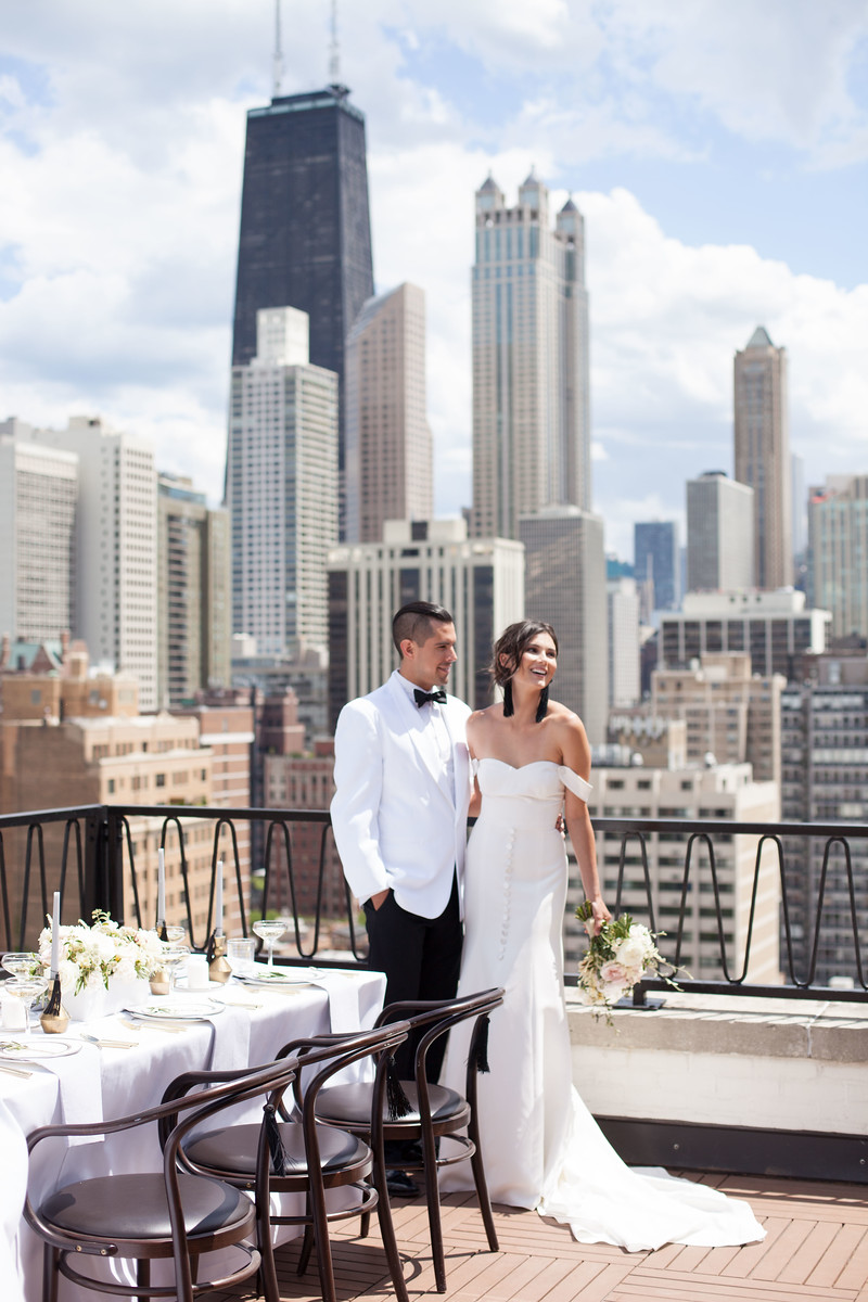 Calling All Tassel Lovers! You Must See This Rooftop Wedding Inspo -