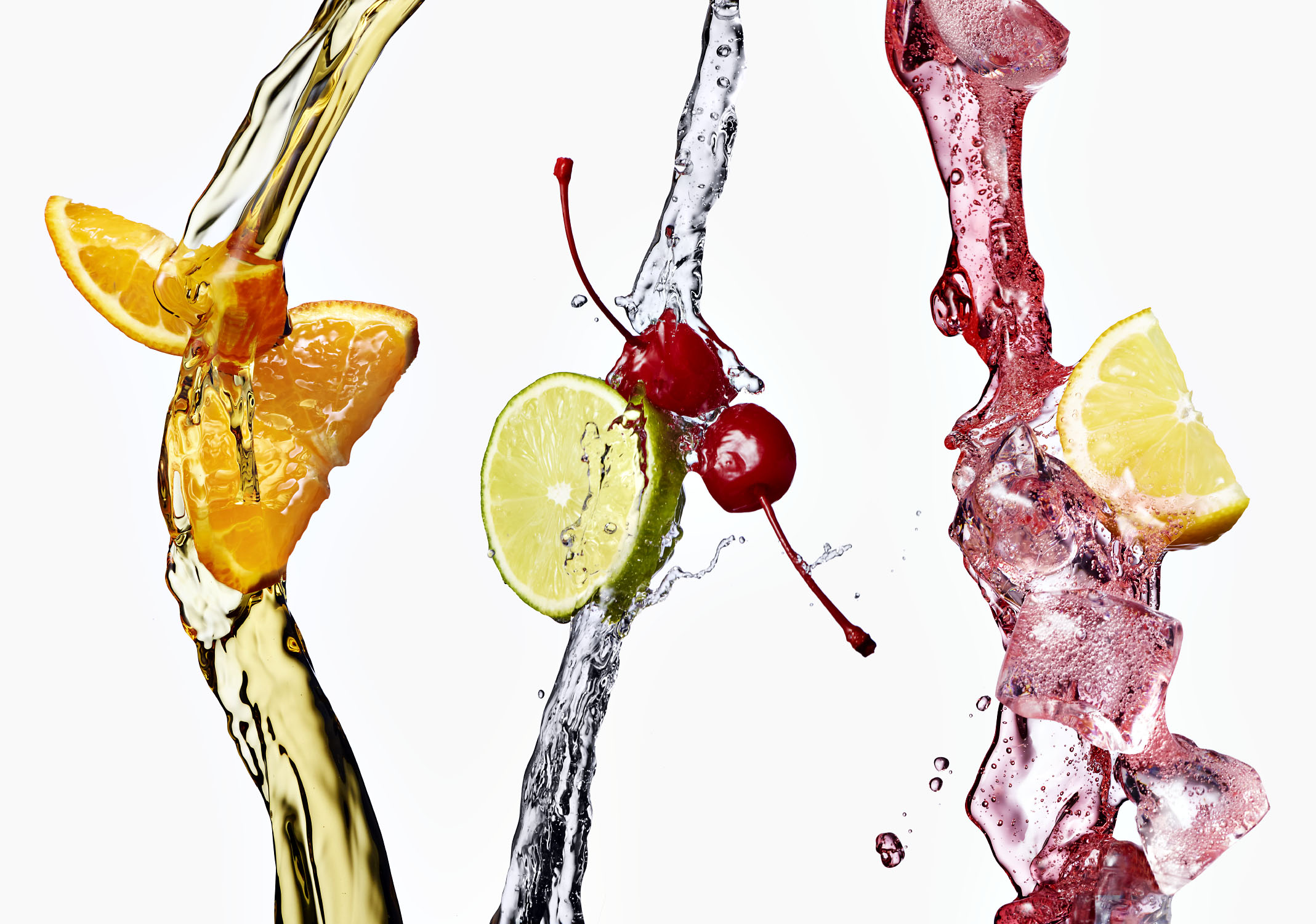 Drinks - Whisky, Gin & Tonic, Campari