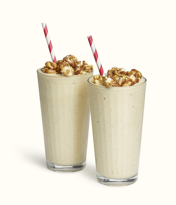 Caramel Corn Milk Shake