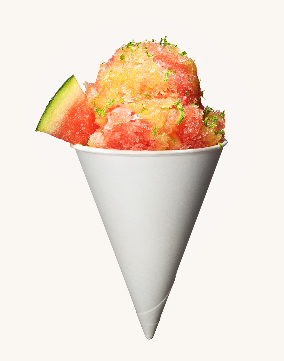 Campari Watermelon Snow Cone