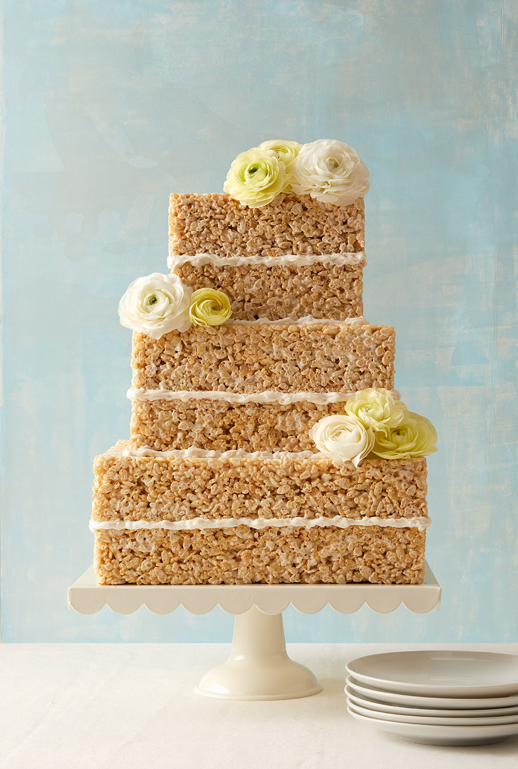 Rice Crispy Treat Cake