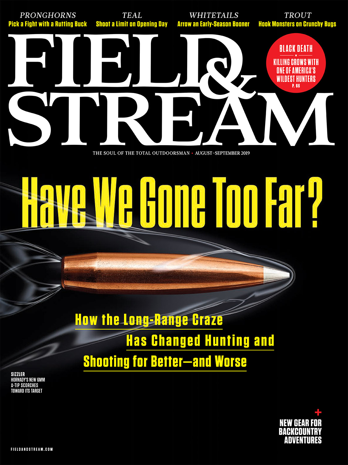 Field & Stream - August / September 2019 Cover