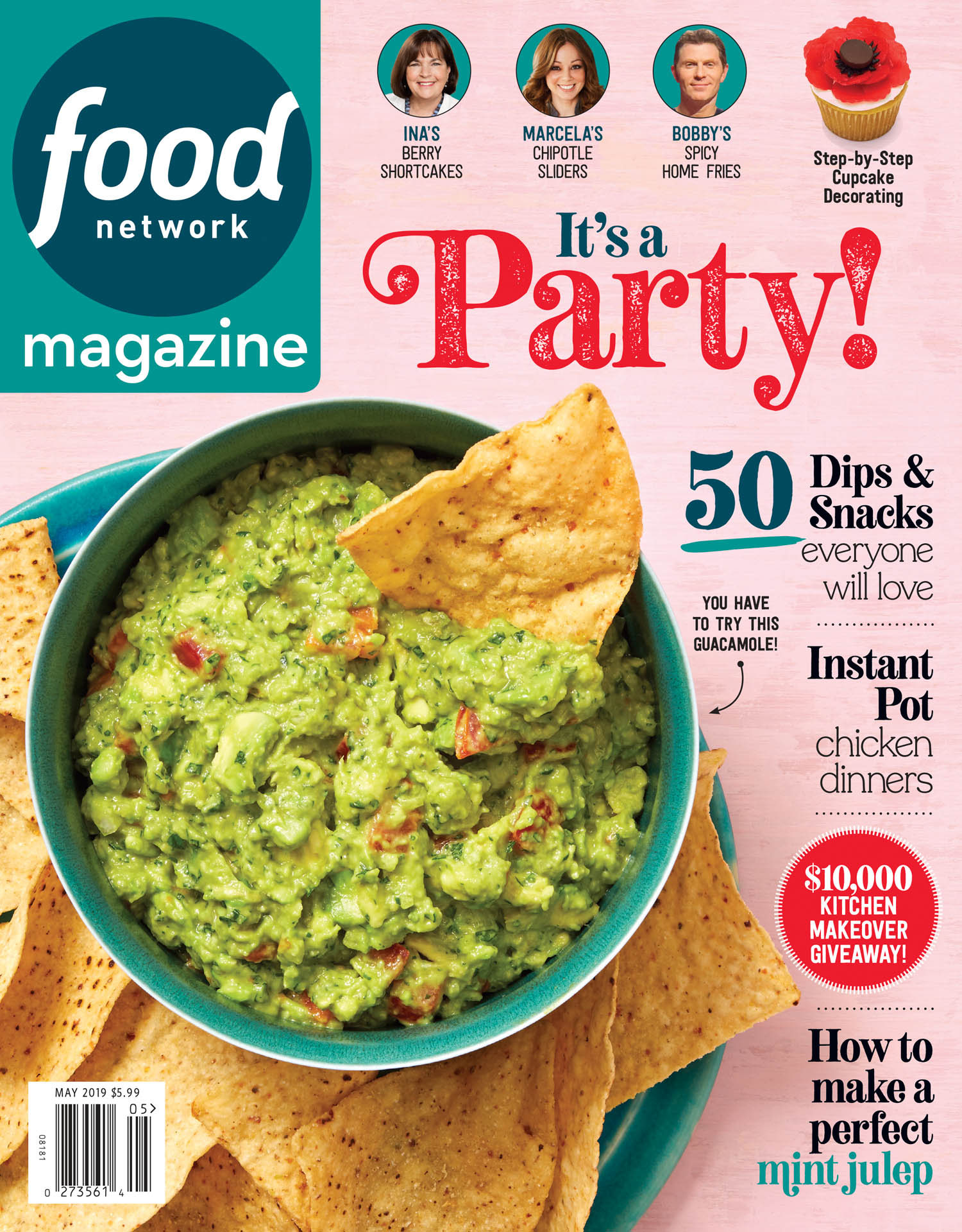 May 2019 Food Network Magazine Cover