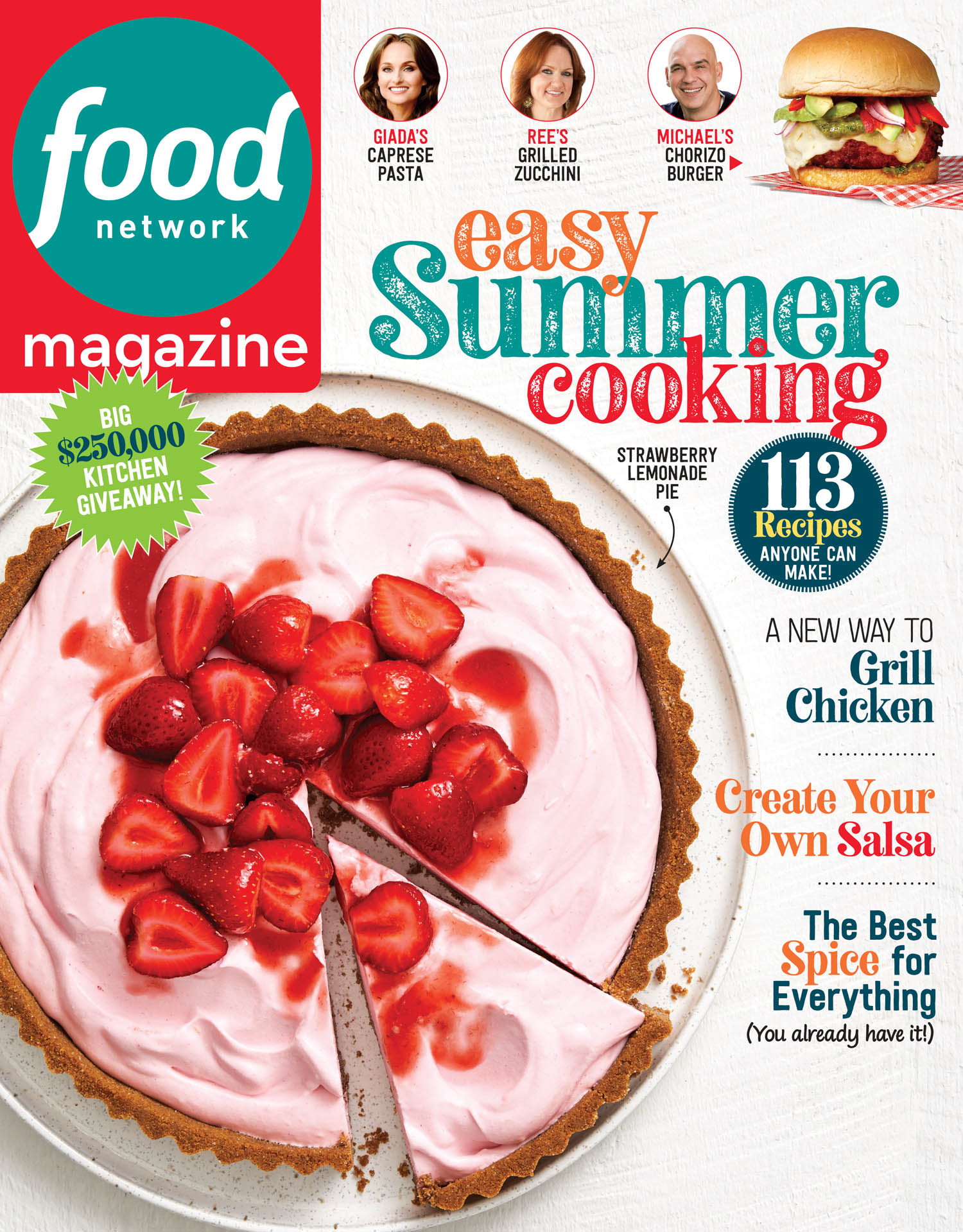 July / August Food Network Magazine Cover