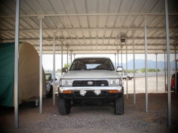 Covered Auto Storage: $66 per Mo