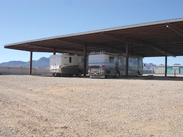Covered RV Parking: $120 / Mo