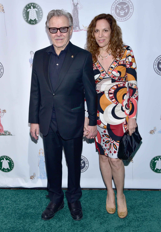 Harvey Keitel and Daphna Kastner