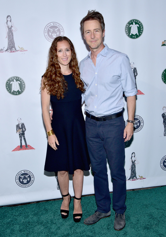 Shauna Robertson and Ed Norton