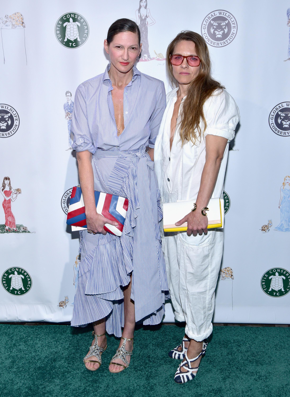 Jenna Lyons and Courtney Crangi