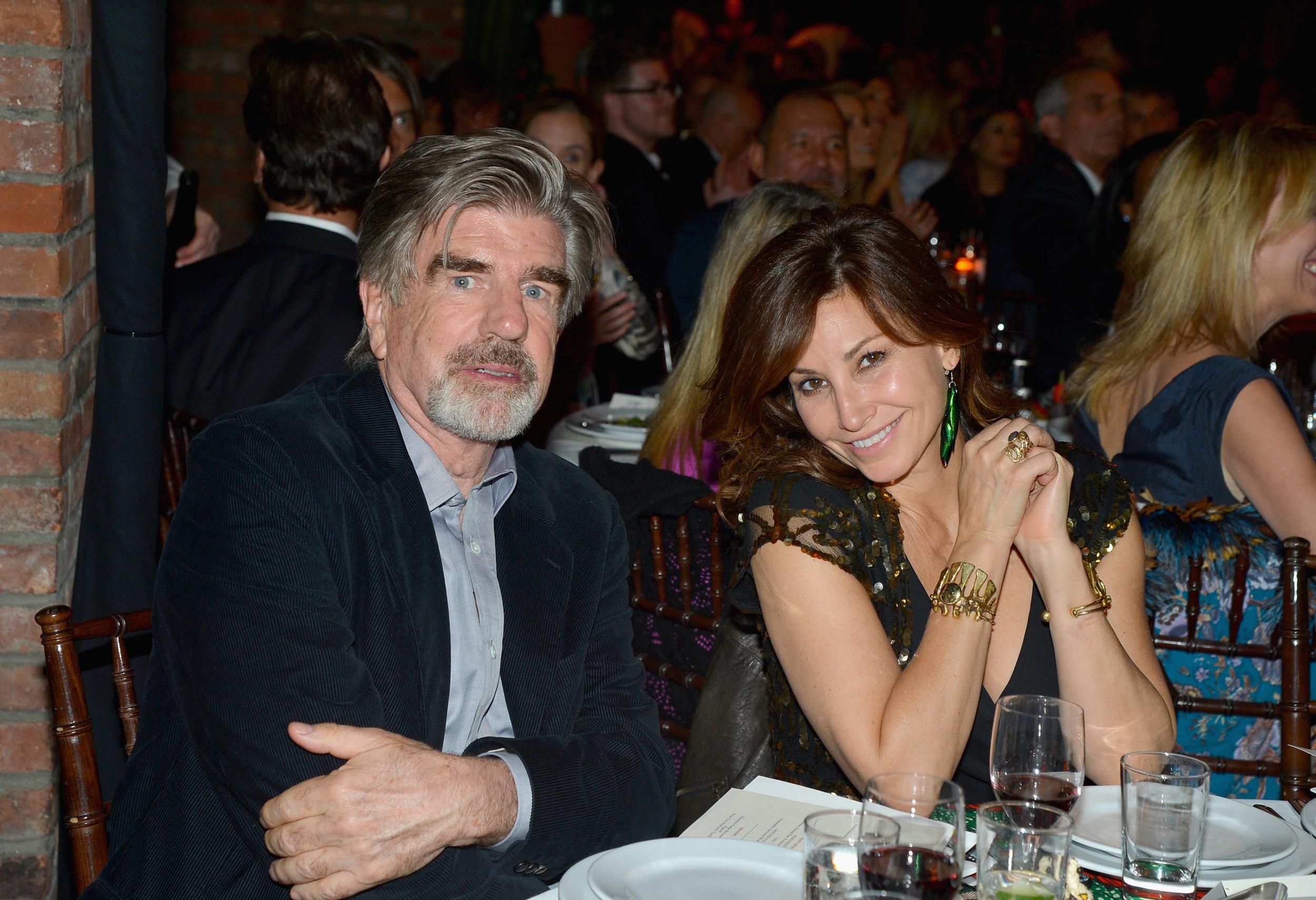 Tom Freston and Gina Gershon