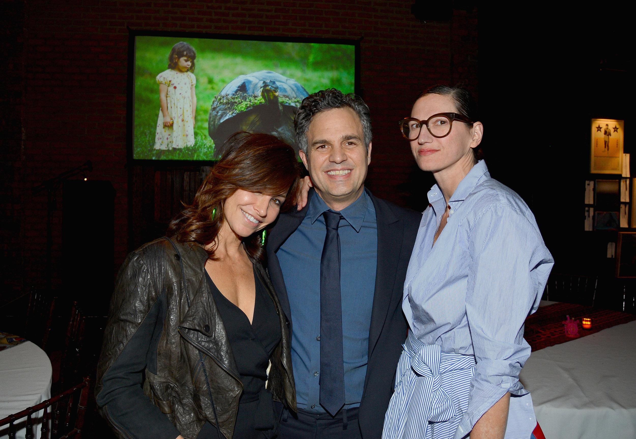 Gina Gershon, Mark Ruffalo, and Jenna Lyons