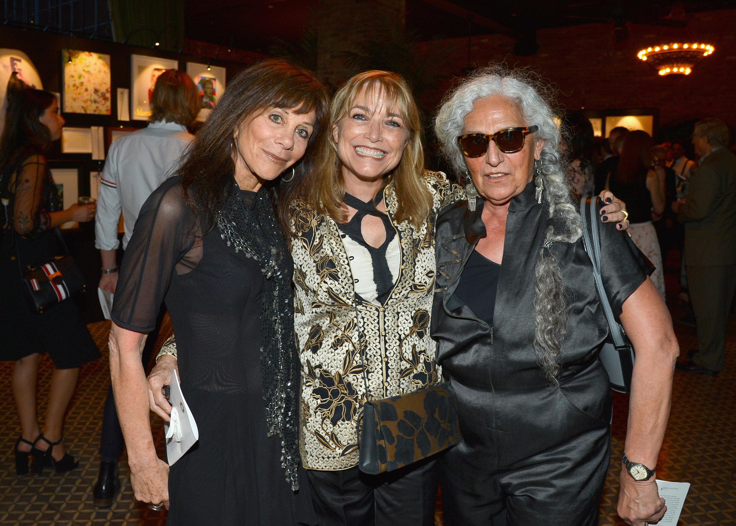 Lynn Goldsmith, Karen Allen, and Sheila Metzner