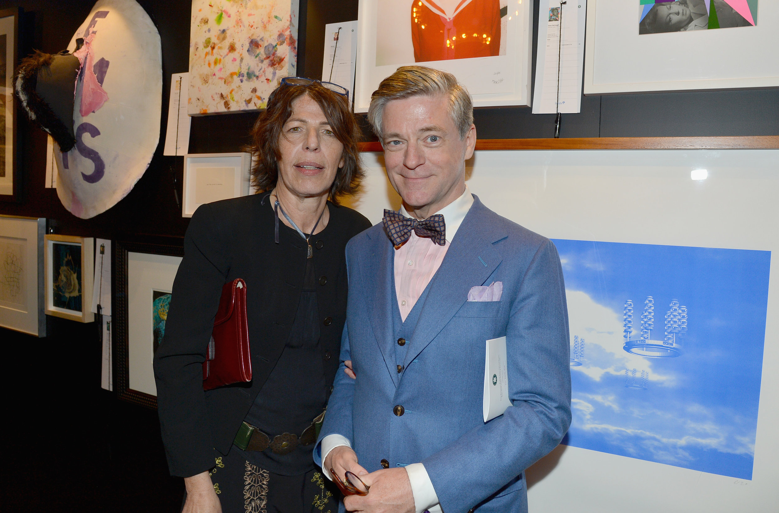 Lisa Rosen and Peter McGough