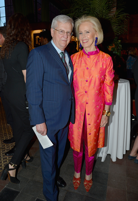 Hank Lowenstein and Edith MacBean