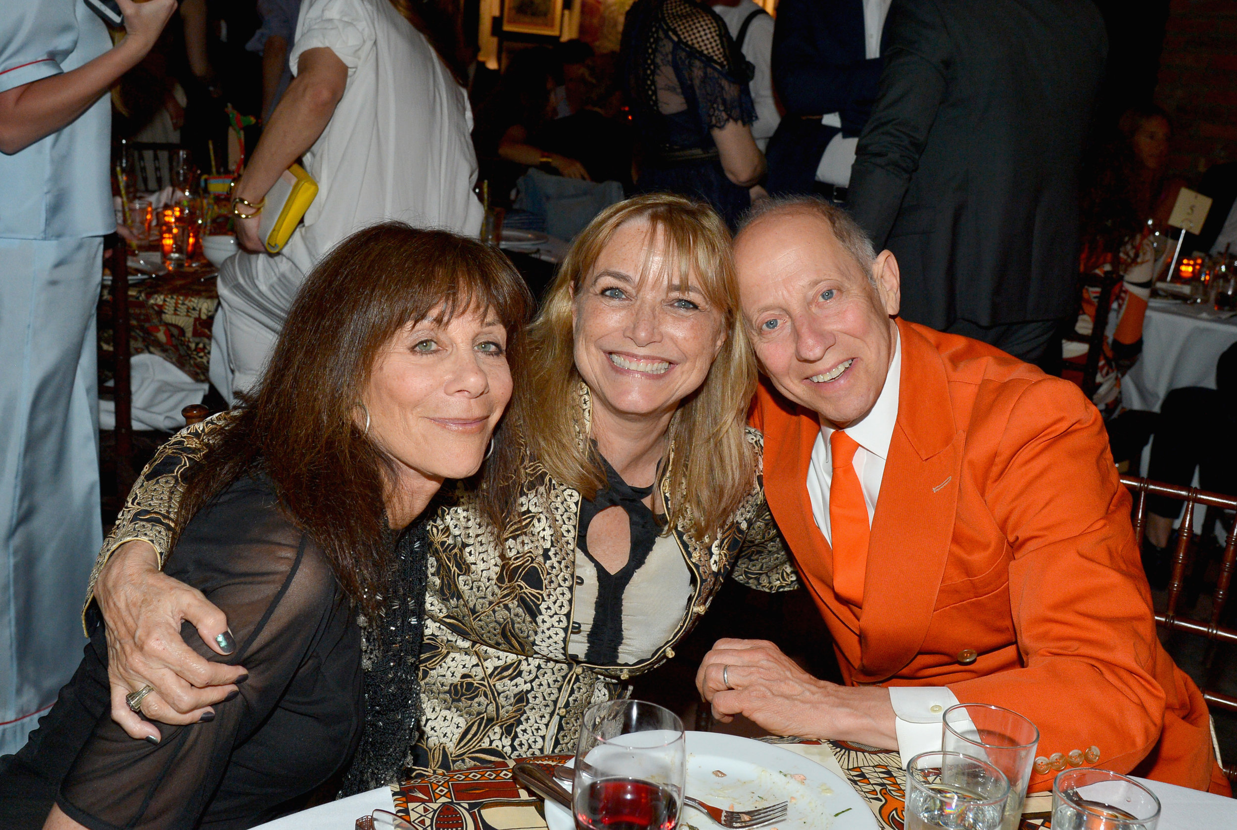 Lynn Goldsmith, Karen Allen, and Knight Landesman