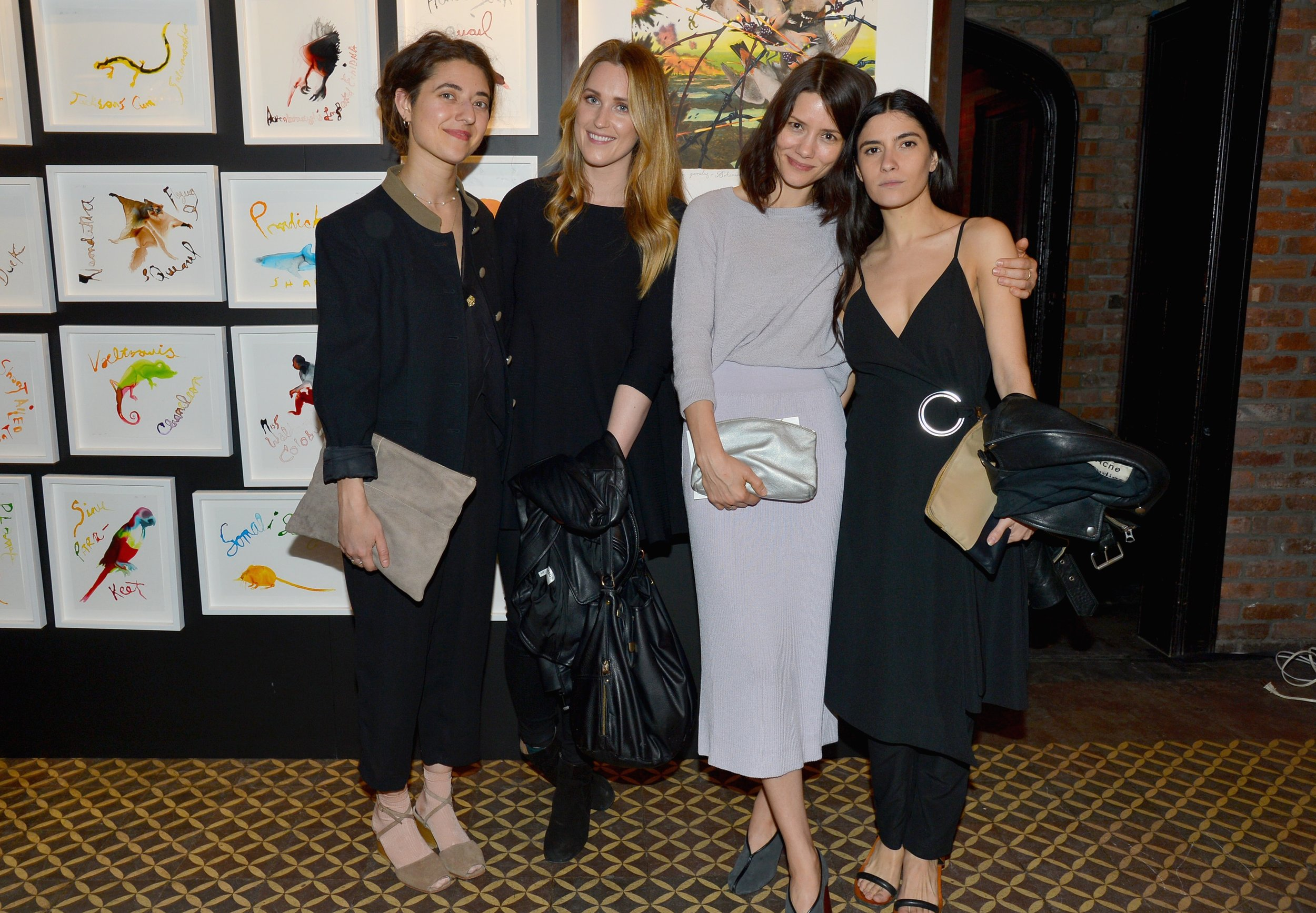 Alyssa Benjamin, Veronica Overgard, Autumn Hruby, and Miranda Levitt