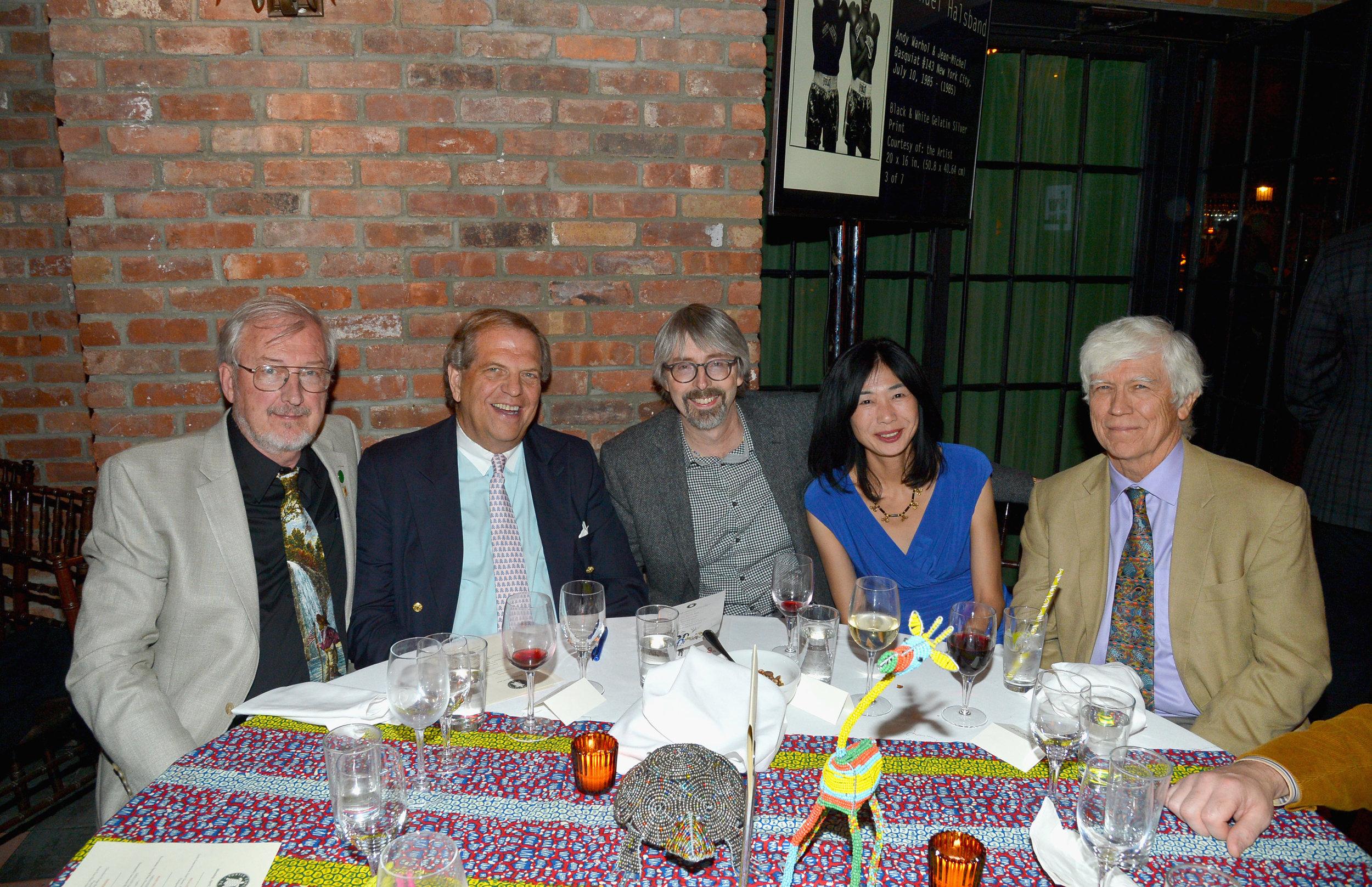 Anders Rhodin, Stuart Salenger George Meyer, Hiromi Tada, and Russell Mittermeier