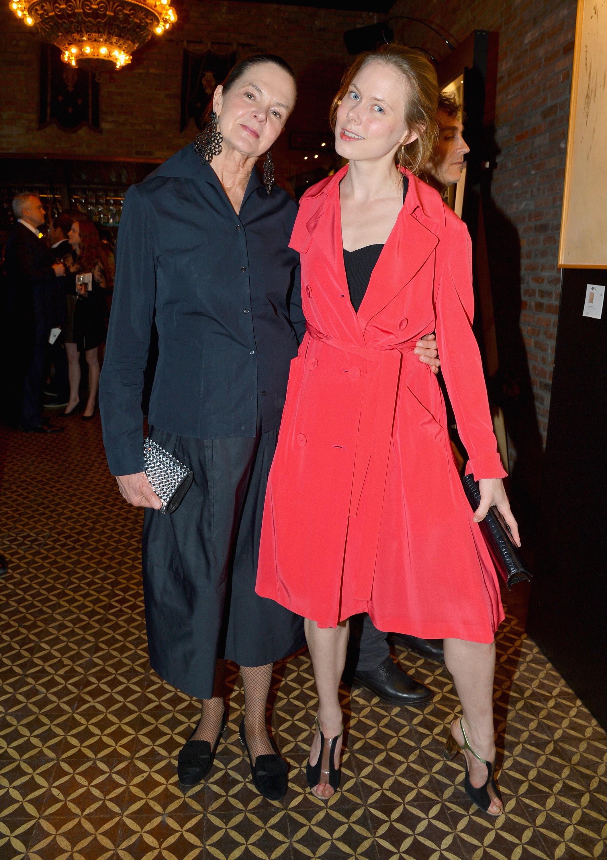 Virginia Hatley and Zoe Lescaze