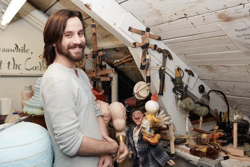 Doug Strich in his workshop