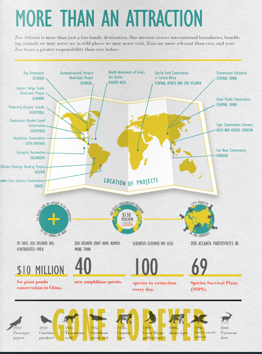 The award-winning annual report that maximizes data with a series of infographics. See the full   2011 annual report  .