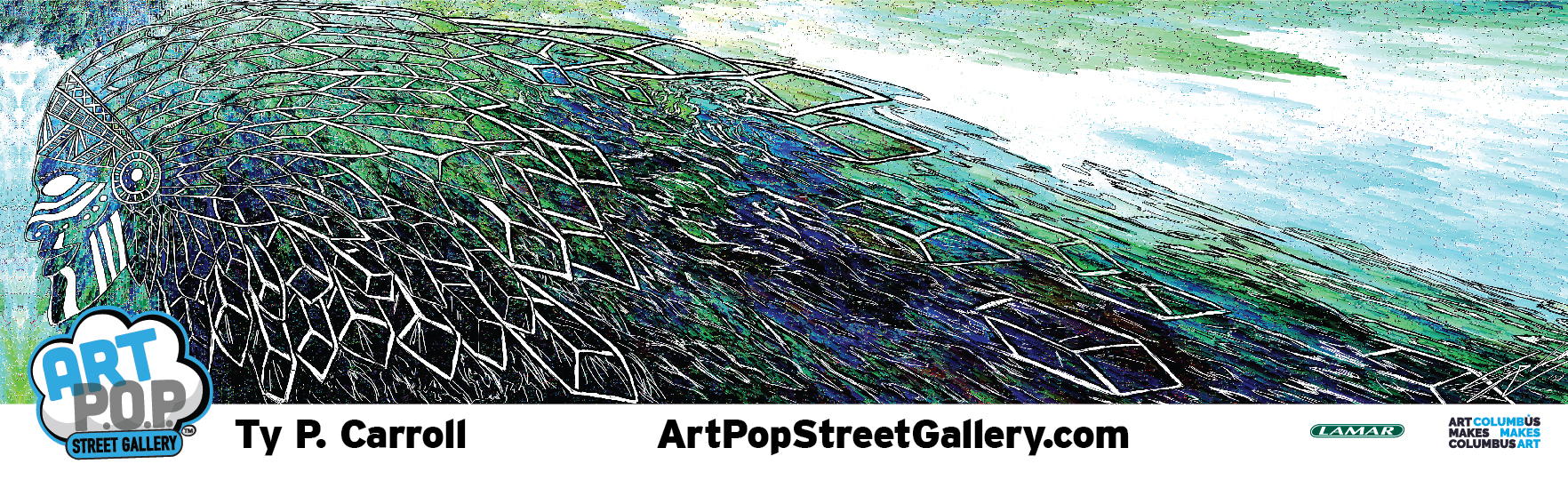 To contact this artist:  typcarroll.com