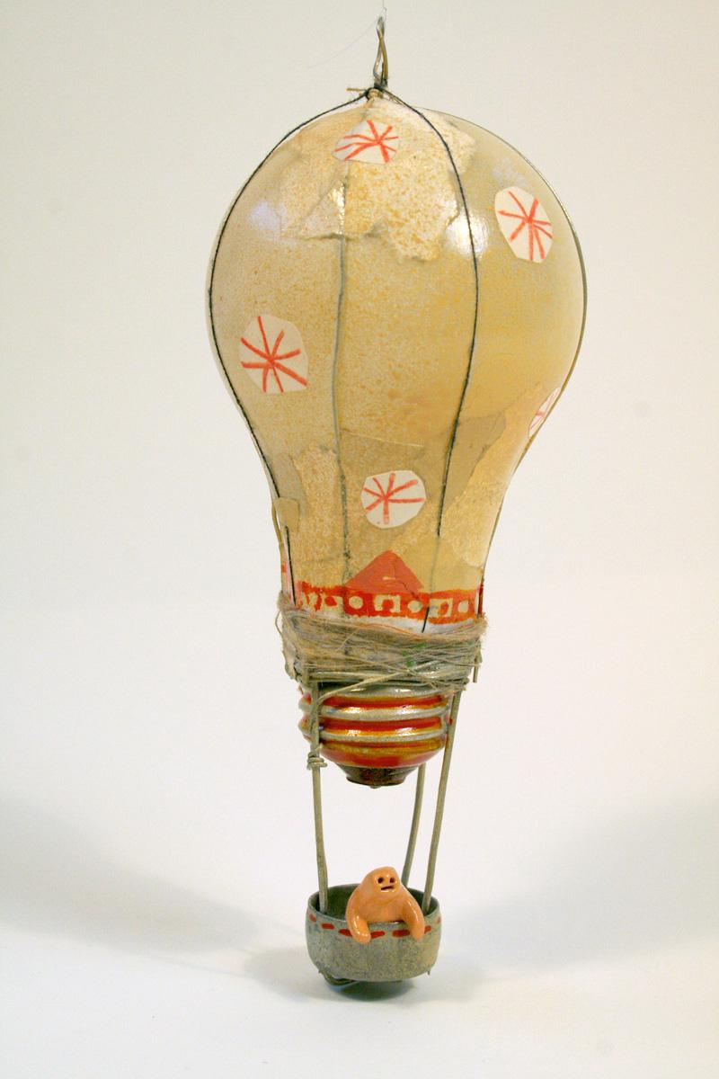 Lightbulb Balloon (Orange)