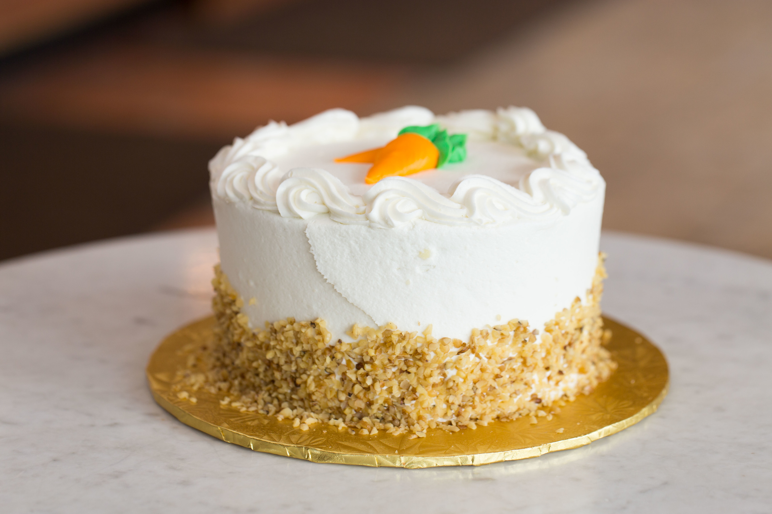 Double Layer Carrot Cake