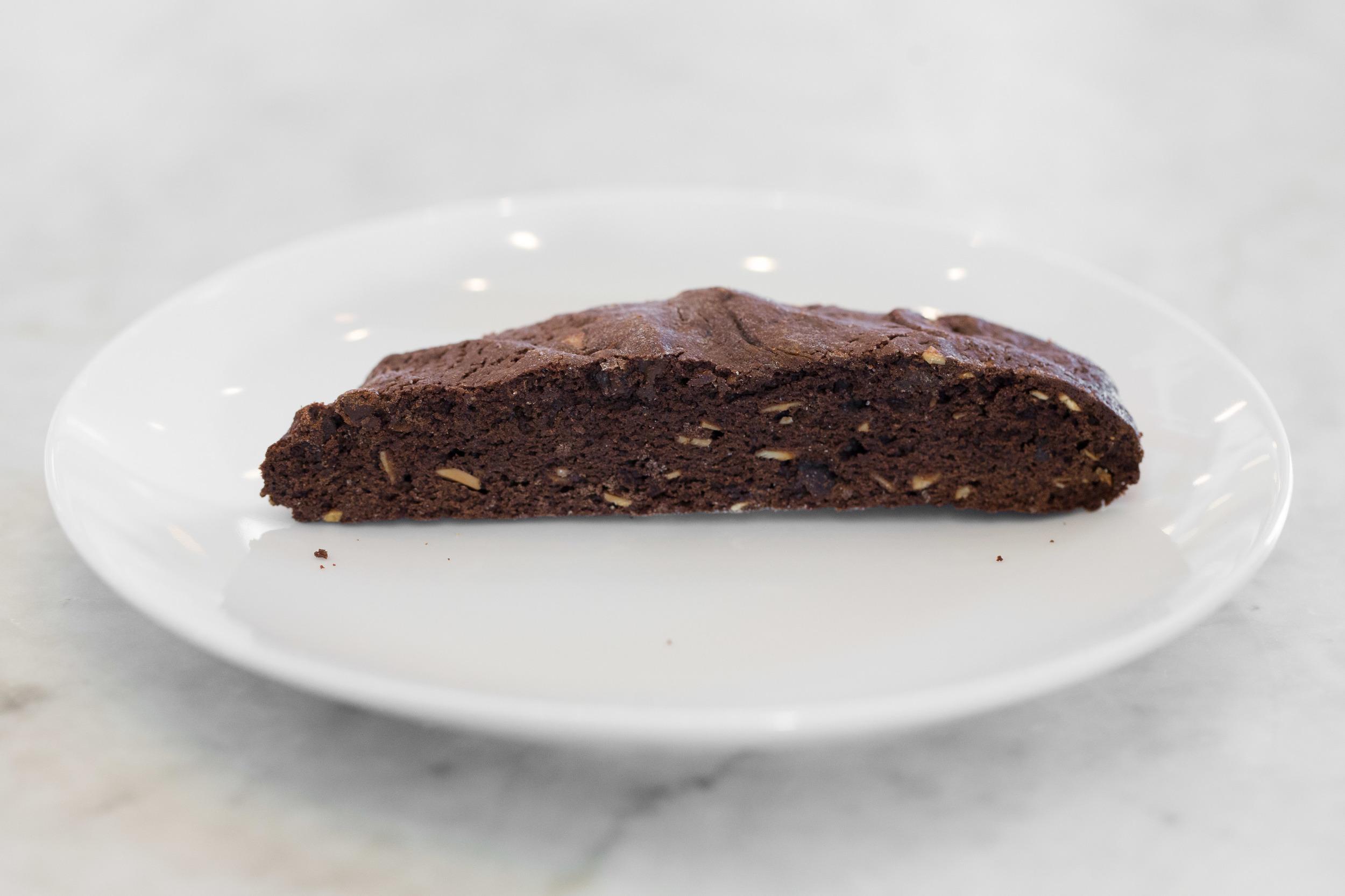 Large Chocolate Almond Biscotti