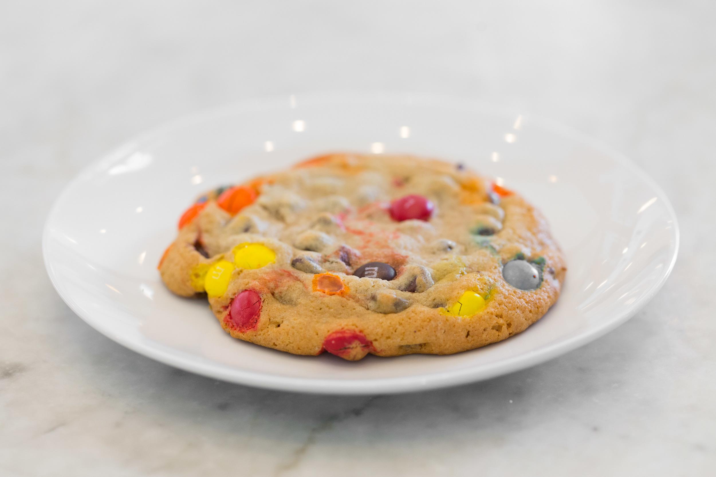 Jumbo M&M Cookie