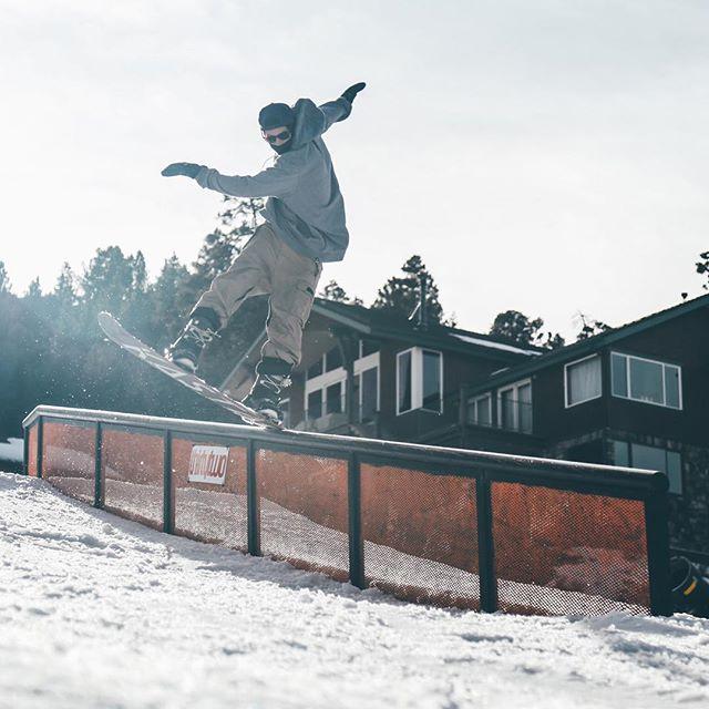 Rail Jam Season // Kyle Merrick here, playing on the weekdays. No matter what board this kid is on, surf, skate, snow... Always throwing down heaters #heatmasta @kastari_ @bear_mountain