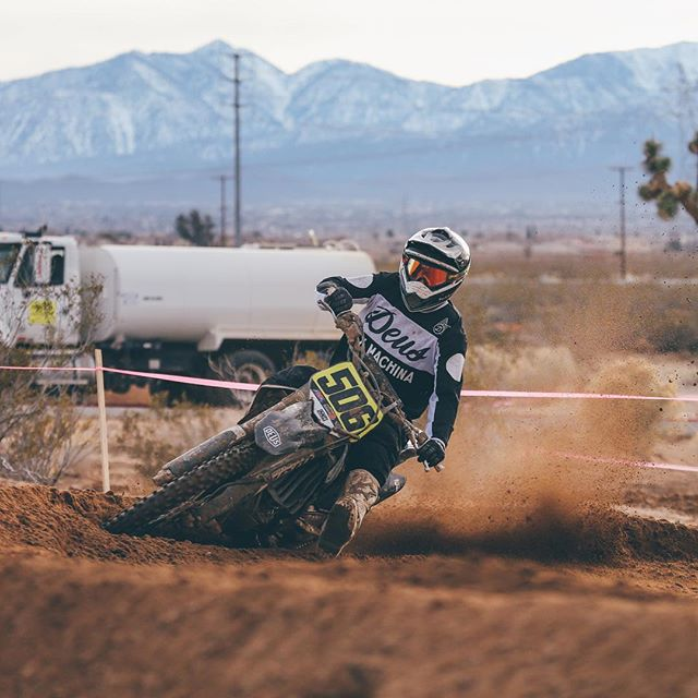 Stoked to get out to the races this weekend // The legend, @4esttree racing in the Adelanto GP #deus #adenlantograndprix