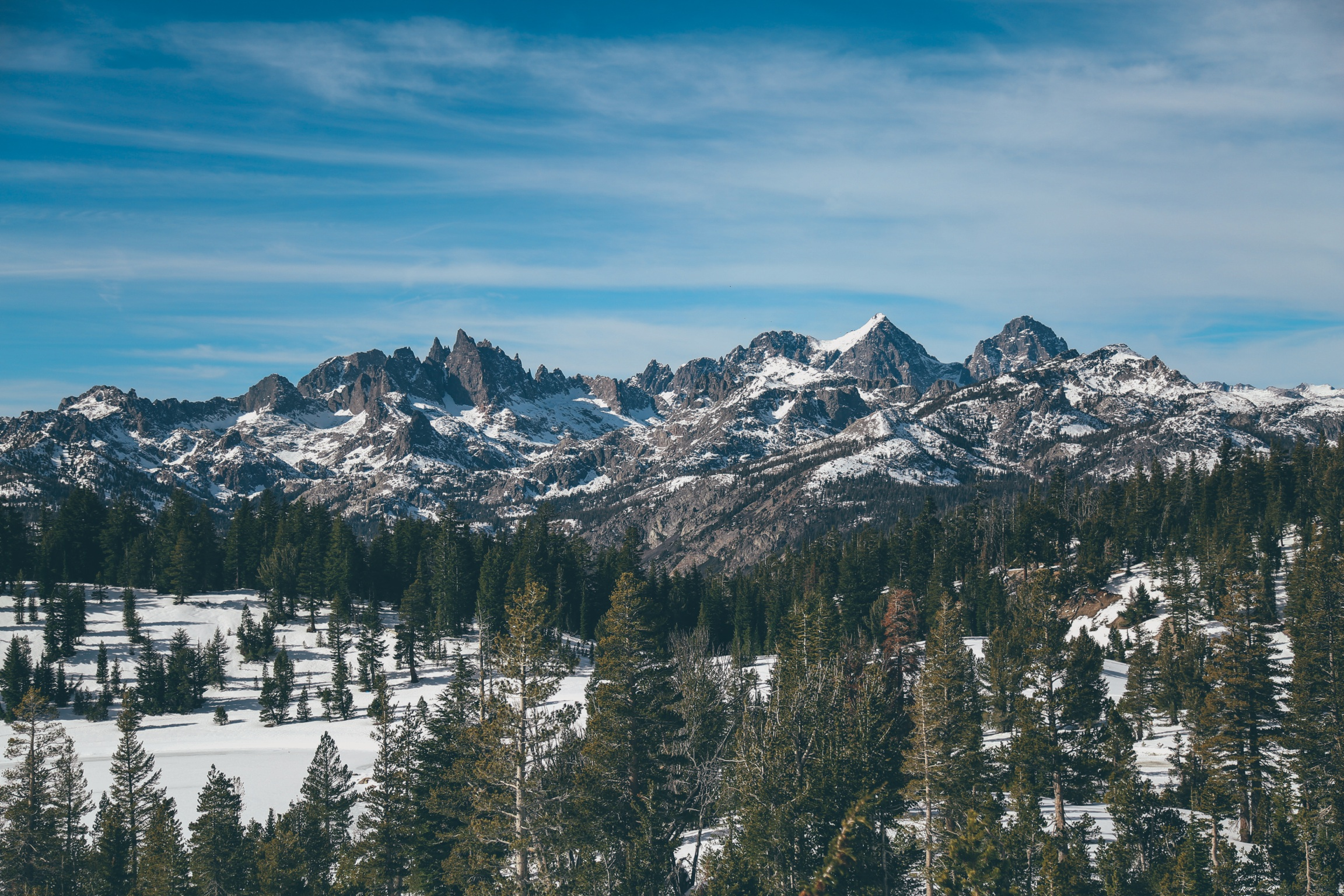 Ritter Range within the Ansel Adams Wilderness